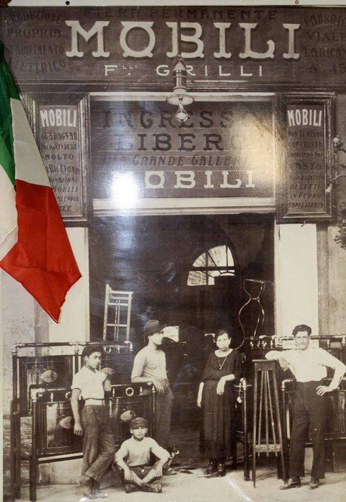 Grilli Mobili Roma.Arredamenti Fratelli Grilli Adottart